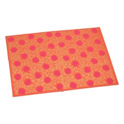 Enveloppe cadeau A5 - Monsoon - Orange