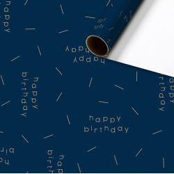 Papier cadeau Sandro - Happy Birthday