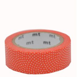 Masking tape - Pois Samekomon orange