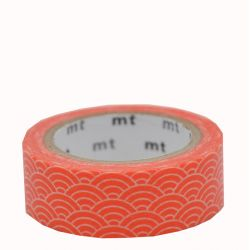 Masking tape - Seigaihamon akadaidai (orange)