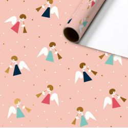 Papier cadeau Young Edition - Salome rose