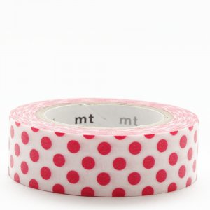 Masking tape / Points rouges (Dot red)
