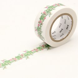 Masking tape - William Morris - Frise florale (rambler)