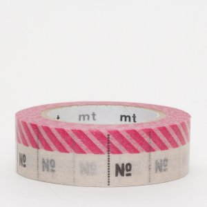 Masking tape / Mètre rose (Number pink)