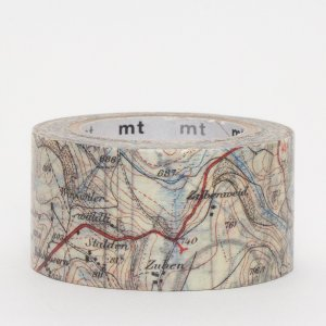 Masking tape Carte routière (map)