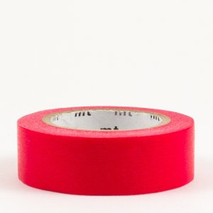 Masking tape / rouge (red)