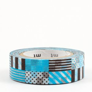 Masking tape / mix bleu (mix blue)