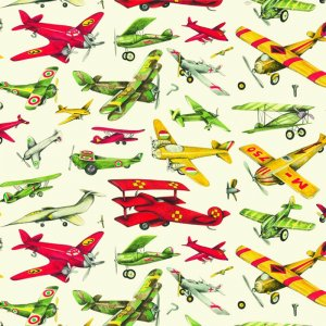 Papier cadeau - Aviation 30's