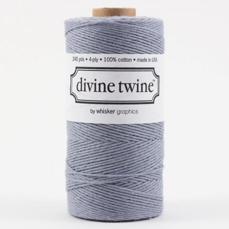 Bakers twine Gris