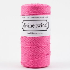 Divine Bakers twine Rose vif - 220 m