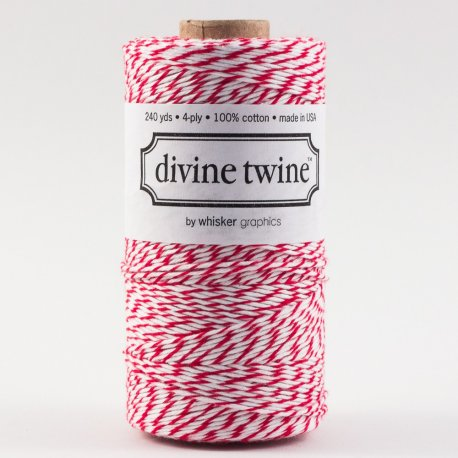 Bakers twine Rouge cerise