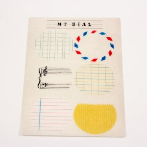 Stickers - mt seal - écrire, composer