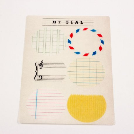 Masking tape - mt seal - stickers écrire