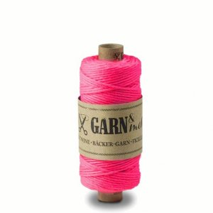 Bakers Twine - Shocking Pink - 45 mètres