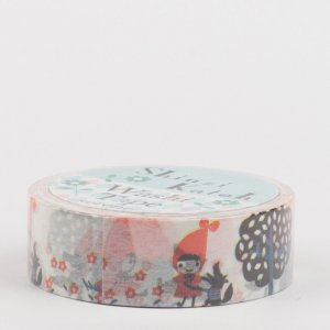 Washi Tape, SHINZI KATOH // Red hood ribbon