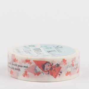 Washi Tape, SHINZI KATOH // Red hood pudding