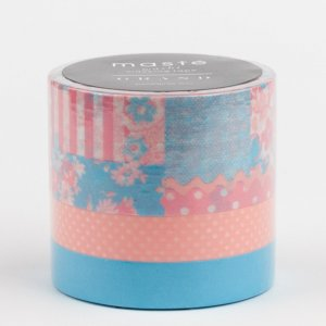 Pack de 3 Masking tape masté – Collage rose