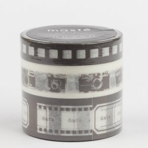 Masking tape masté – Camera brun