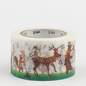 Masking tape - Carnaval des animaux - Drum and fife band