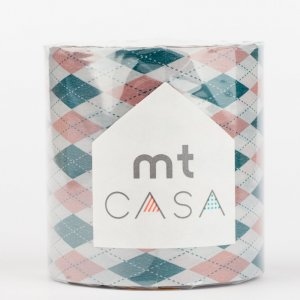 MT CASA -  Jacquard (argyle pink) - Largeur 50mm