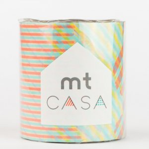 MT CASA -  Stripe-checked red - Largeur 50mm