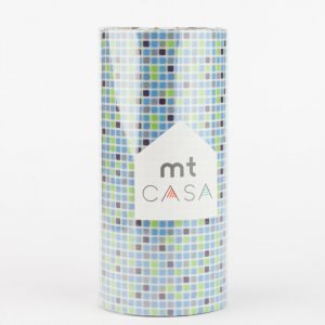 Masking tape MT CASA - Tile blue - Largeur 100mm