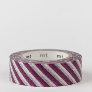 Masking tape / rayures violet / stripe purple