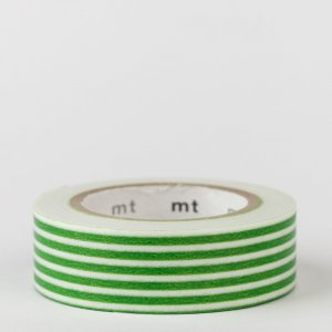 Masking tape / lignes vert clair / border light green