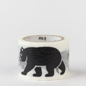 Masking tape mt fab / bestiaire / black animals
