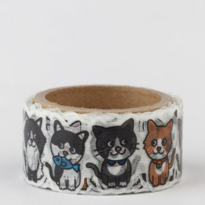 Washi tape Round top - Chat