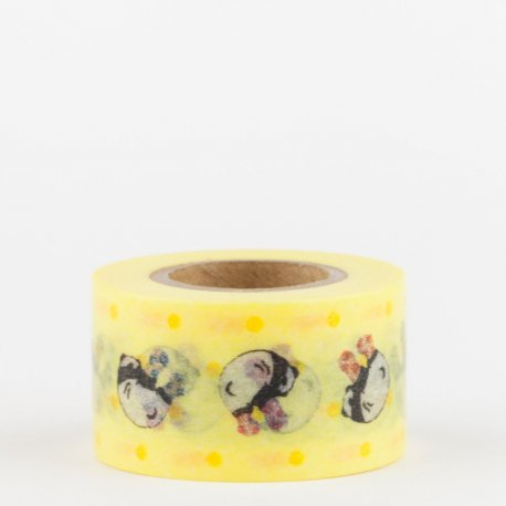 Masking tape pocket Masté - Pokefasu / Yellow