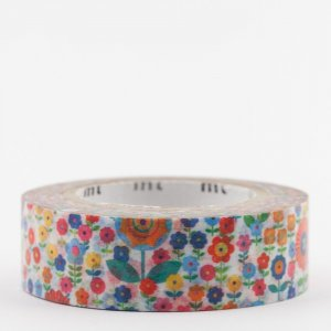 Masking tape / Liberty fleurs multicolores