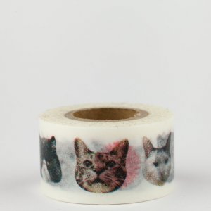 Washi Tape - chat - Pocket Masté