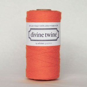 Divine Bakers twine Orange - 220 mètres