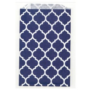 Sachets papier Medium - Casablanca Navy (lot de 10)