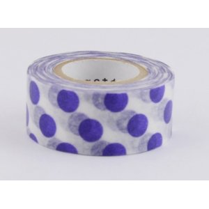 Masking tape masté - Points Violet (polka dots)