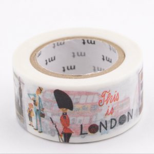 Masking tape - This is London - Miroslav Sasek