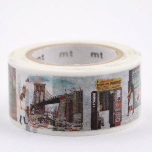 Masking tape - This is New York - Miroslav Sasek
