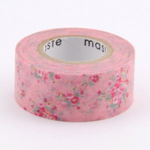 Masking tape - Liberty style rose - Pocket Masté