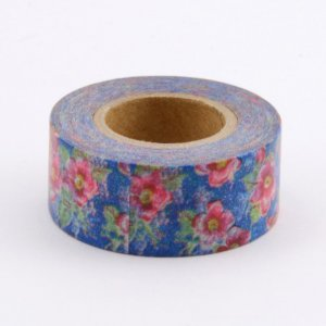 Masking tape - Liberty style bleu - Pocket Masté