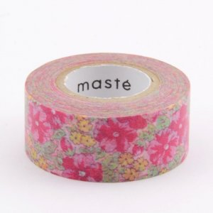 Masking tape - Liberty style rouge - Pocket Masté