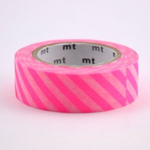 Masking tape / stripe shocking pink (rose fluo)