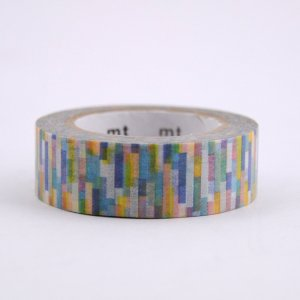 Masking tape / block blue