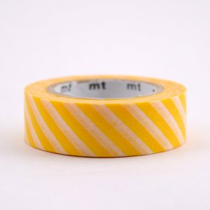 Masking tape / rayures jaune / stripe yellow