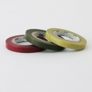 Masking tape / 3 rouleaux fins / Huppe