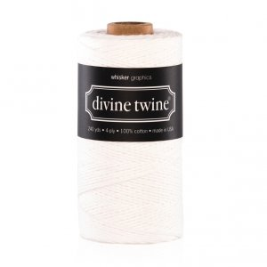 Bakers twine Blanc 220m