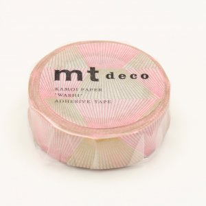 Masking Tape - Diagonales - Or & Rose