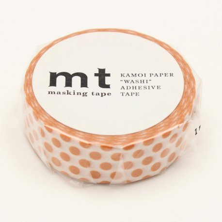 Masking tape - Pois Orange