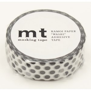 Masking Tape - Grands pois noirs