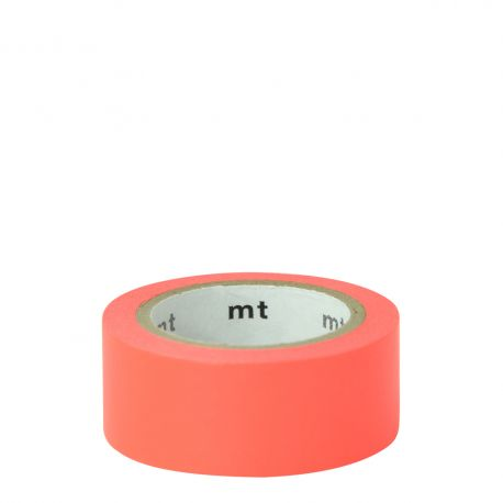Masking tape - EXTRA-FLUO rouge - 1,5cm x 5m